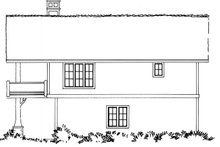House Plan Design - Country Exterior - Other Elevation Plan #942-20