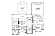 Ranch Style House Plan - 3 Beds 2 Baths 1914 Sq/Ft Plan #929-1011 Floor Plan - Main Floor Plan