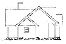 House Plan Design - Ranch Exterior - Other Elevation Plan #942-21
