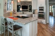 Craftsman Style House Plan - 4 Beds 3.5 Baths 3132 Sq/Ft Plan #929-407 Interior - Kitchen
