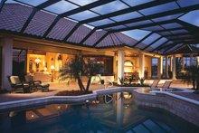 Architectural House Design - Mediterranean Exterior - Rear Elevation Plan #930-92