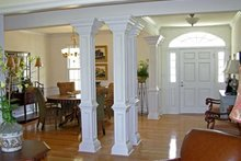 Classical Interior - Dining Room Plan #137-309