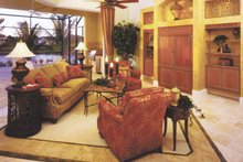 Home Plan - Mediterranean Interior - Family Room Plan #1017-3