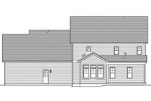 House Plan Design - Traditional Exterior - Rear Elevation Plan #1010-128
