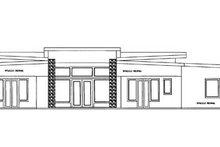 Contemporary Exterior - Other Elevation Plan #117-865
