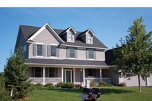 Traditional Exterior - Front Elevation Plan #51-1086