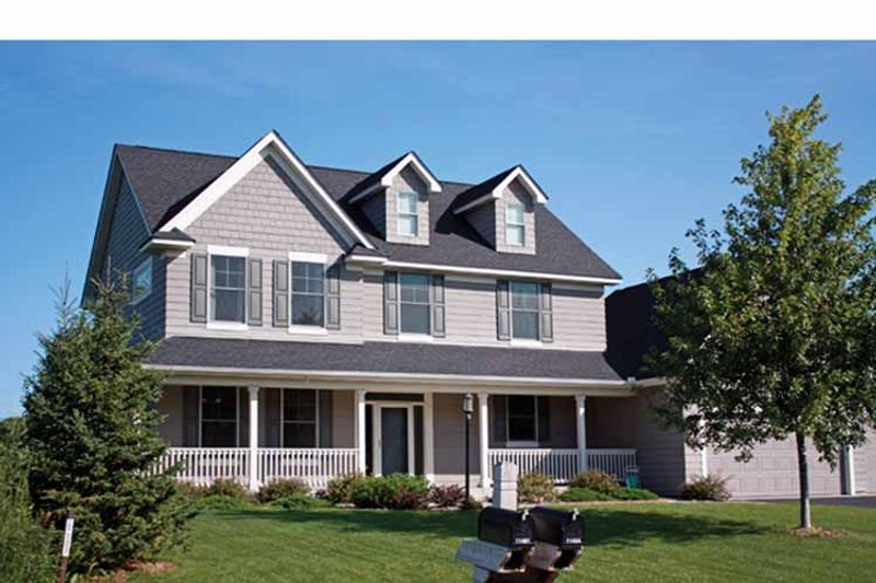Home Plan - Traditional Exterior - Front Elevation Plan #51-1086