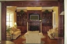 Architectural House Design - Country Interior - Family Room Plan #21-419