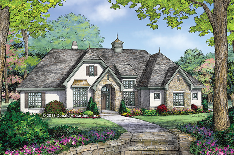 Country Exterior - Front Elevation Plan #929-985 - Houseplans.com