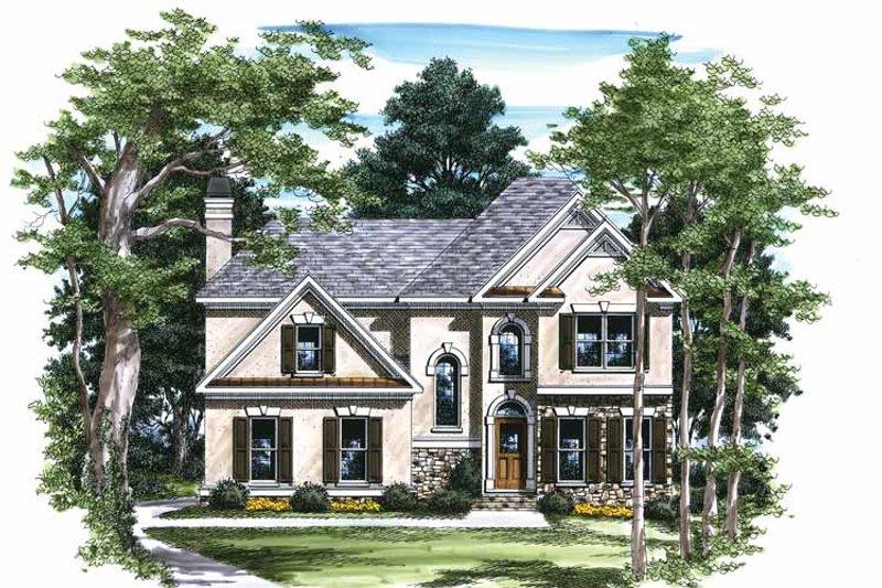 House Design - Mediterranean Exterior - Front Elevation Plan #927-228