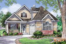 Dream House Plan - Traditional Exterior - Front Elevation Plan #929-785