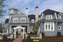 Architectural House Design - Country Exterior - Front Elevation Plan #54-302