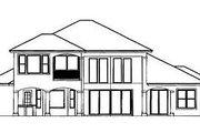 Mediterranean Style House Plan - 3 Beds 3 Baths 3130 Sq/Ft Plan #27-332 Exterior - Rear Elevation