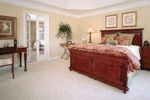 House Design - Traditional Interior - Master Bedroom Plan #927-598