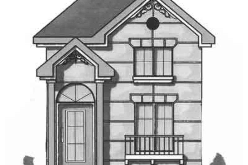 Cottage Exterior - Front Elevation Plan #23-469