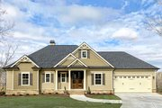 Ranch Style House Plan - 3 Beds 2.5 Baths 2303 Sq/Ft Plan #437-77 Exterior - Front Elevation