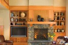 Craftsman Interior - Family Room Plan #48-364