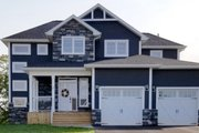 Craftsman Style House Plan - 4 Beds 2.5 Baths 2050 Sq/Ft Plan #23-2704 Exterior - Front Elevation