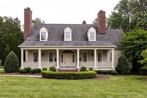 Country Exterior - Front Elevation Plan #137-148