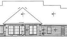 Dream House Plan - European Exterior - Rear Elevation Plan #310-234