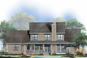 Country Style House Plan - 4 Beds 3.5 Baths 2521 Sq/Ft Plan #929-667 Exterior - Rear Elevation