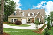 Country Style House Plan - 3 Beds 3.5 Baths 2515 Sq/Ft Plan #929-682 Exterior - Front Elevation