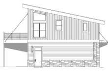 Contemporary Exterior - Other Elevation Plan #932-41