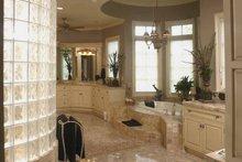 European Interior - Master Bathroom Plan #952-208
