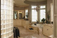 House Plan Design - European Interior - Master Bathroom Plan #952-208