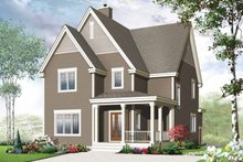 Home Plan - Traditional Exterior - Front Elevation Plan #23-2505