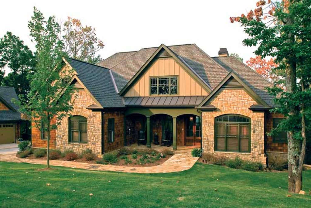 Country Exterior Front Elevation Plan 927 295