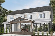 Architectural House Design - Farmhouse Exterior - Rear Elevation Plan #23-2686