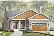 Traditional Style House Plan - 3 Beds 2 Baths 1838 Sq/Ft Plan #23-2532 Exterior - Front Elevation