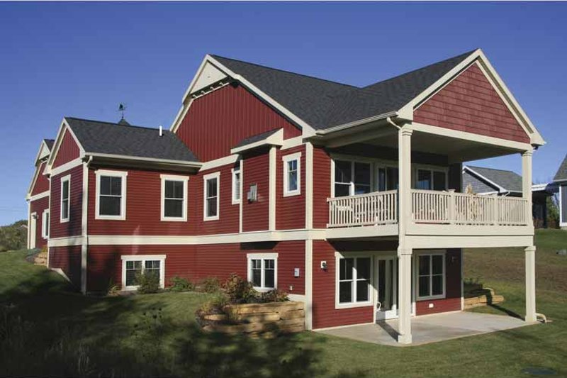 Traditional Exterior - Front Elevation Plan #928-167 - Houseplans.com