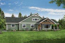 House Plan Design - Craftsman Exterior - Front Elevation Plan #124-1184