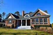 Classical Style House Plan - 3 Beds 3.5 Baths 3271 Sq/Ft Plan #137-132 Exterior - Rear Elevation