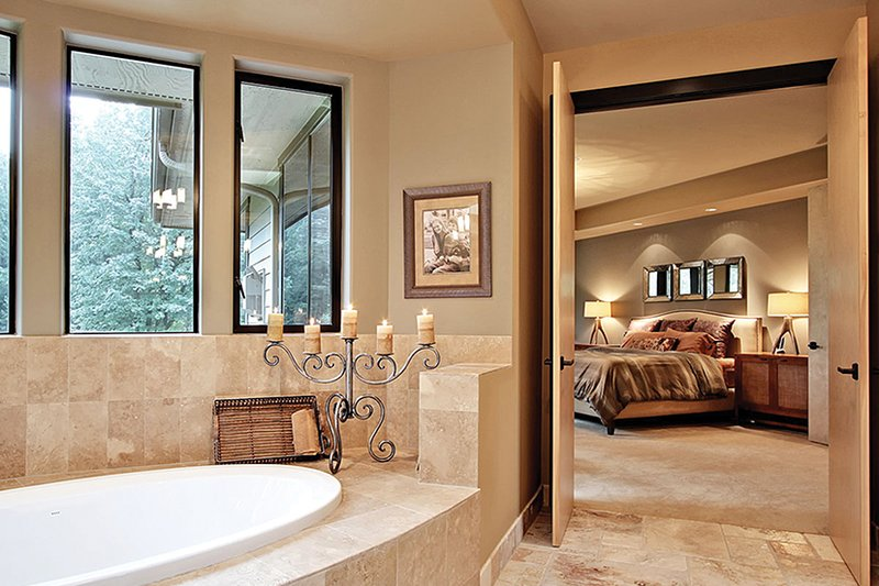Prairie Interior - Master Bathroom Plan #132-562 - Houseplans.com