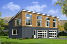 Colonial Exterior - Front Elevation Plan #932-279