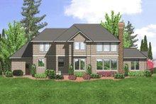 Home Plan - European Exterior - Rear Elevation Plan #48-348