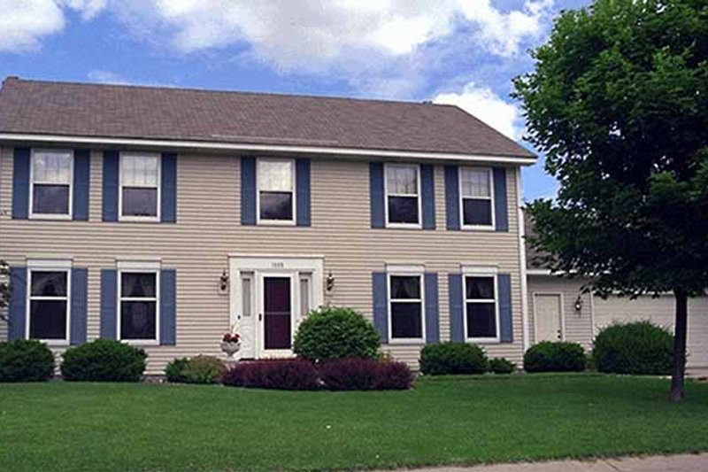 Dream House Plan - Colonial Exterior - Front Elevation Plan #51-864