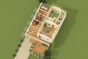 Cottage Style House Plan - 1 Beds 1 Baths 399 Sq/Ft Plan #917-4