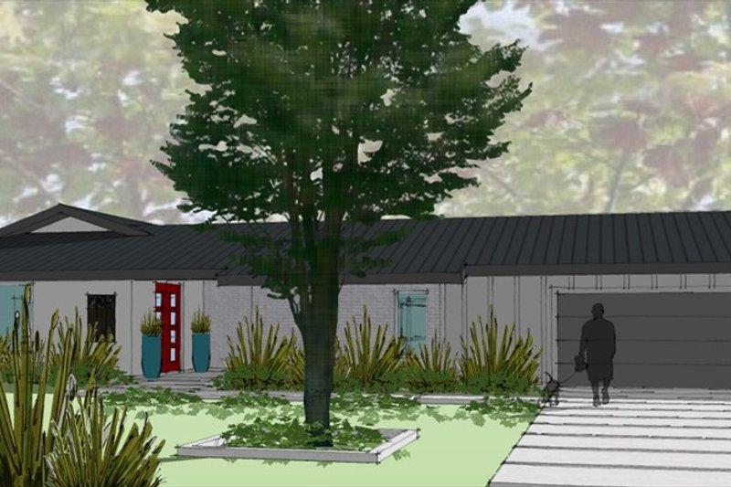 Modern Style House Plan - 3 Beds 3.5 Baths 3392 Sq/Ft Plan #449-15