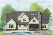 Craftsman Style House Plan - 5 Beds 4 Baths 2940 Sq/Ft Plan #929-1051