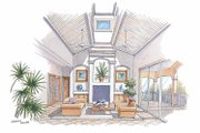 Country Style House Plan - 3 Beds 2.5 Baths 2385 Sq/Ft Plan #930-67 Interior - Family Room