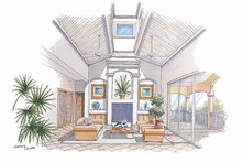 Country Interior - Family Room Plan #930-67