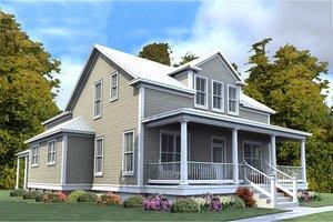 Farmhouse Exterior - Front Elevation Plan #63-376