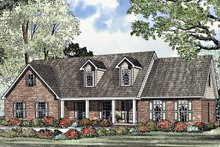 Home Plan - Country Exterior - Front Elevation Plan #17-3163