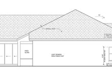 Mediterranean Exterior - Other Elevation Plan #1058-45
