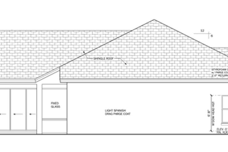 Mediterranean Exterior - Other Elevation Plan #1058-45 - Houseplans.com