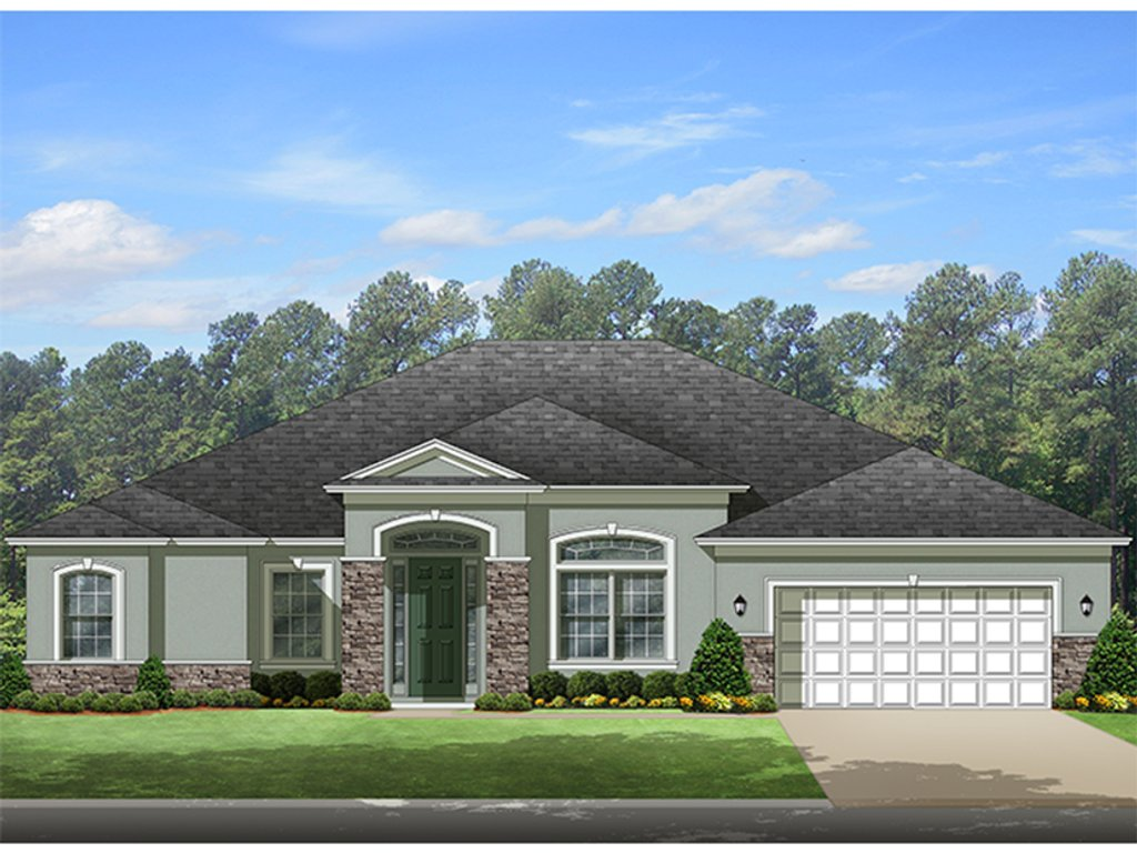 European style house plan 4 beds 3 baths 3068 sq ft plan for Weinmaster house plans